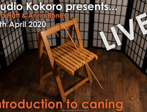 Kokoro Live: Introduction to Caning With Fred Hatt and Anna Bones